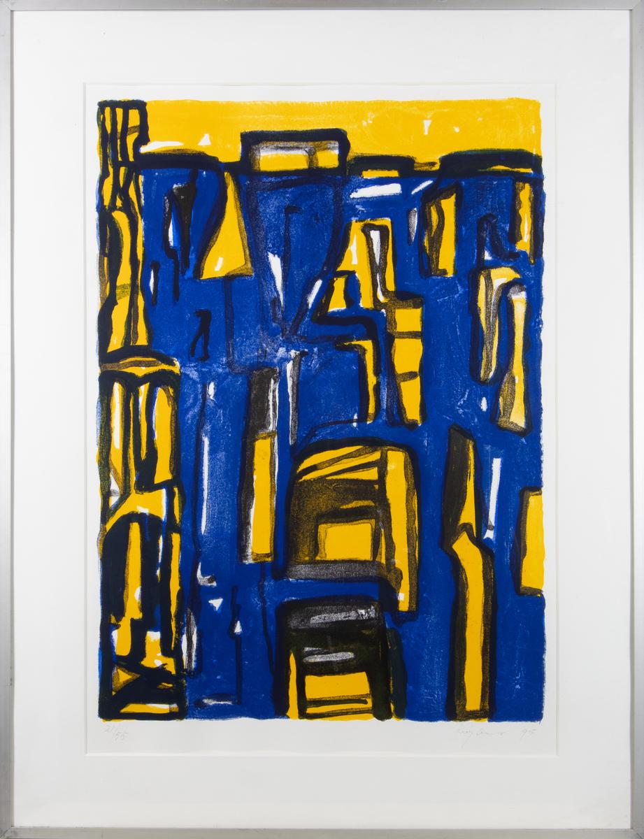 Zonder titel (geel/blauw)   21/55