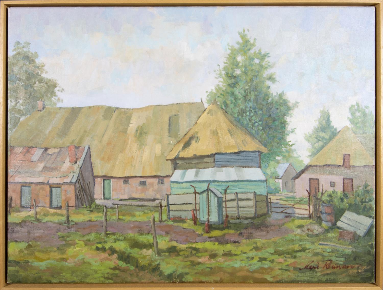 Landschap boerderij 1974
