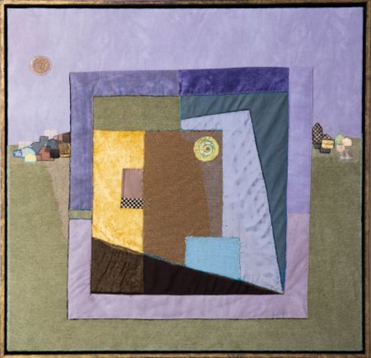 Abstract in landschap